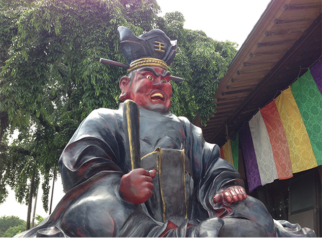 The Statue of Great Enma, the King of Hell
